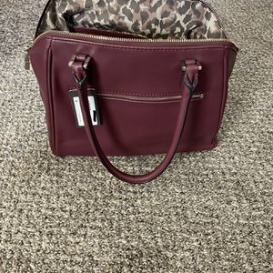 Guess Marisole Uptown Satchel In Rare Color Bordeaux for Sale in Riverside, CA