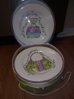 Hand Crafted Cermamic Plates for Sale in Lewisville, TX