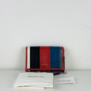 NWT Balenciaga Shopper Bazar Leather Wallet On Chain Crossbody Bag $1,290 for Sale in Los Angeles, CA