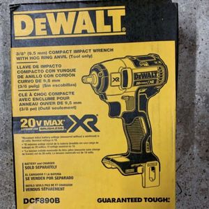 New DEWALT DCF890B 20V Max XR Cordless Impact Wrench (Tool Only) for Sale in Brooklyn, NY