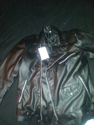 Brand New W Tags.Mans Leather Large Jacket for Sale in Orlando, FL