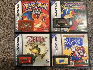 Gameboy Advance games for Sale in Riverside, CA