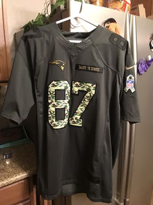 New England Patriots Rob Gronkowski Salute To Service Jersey for Sale in Phoenix, AZ