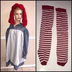 Sexy Raggedy Ann Adult Dress Costume Fits up to Size 12 just $5 Halloween for Sale in Port St. Lucie, FL