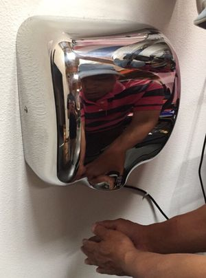 New in box commerical grade restaurant quality chrome automatic hand dryer energy efficient fast drying for Sale in Baldwin Park, CA