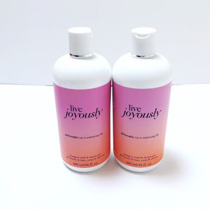 Philosophy Shampoo, Bath And Shower Gel Live Joyously Two (2) 16 Fl Oz Bottles for Sale in Richmond, VA