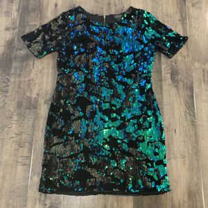 Top shop mermaid sequence velvet dress for Sale in University Place, WA