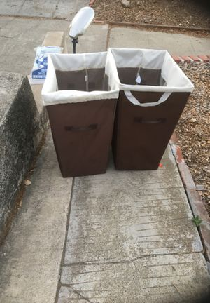 2 hampers on driveway for pickup 1504 Pine Street Martinez for Sale in Martinez, CA
