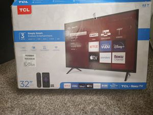 """BRAND NEW TCL Roku TV 32"""" for Sale in Tacoma, WA"""