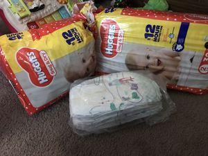 Size 2 diapers. for Sale in Berea, OH