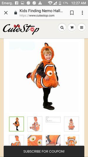 Finding Nemo costume for Sale in Whittier, CA