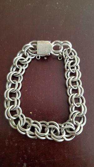Sterling Silver Charm Bracelet Vintage for Sale in Peoria, AZ