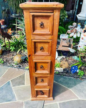 Mexican Pine rustic petite dresser for Sale in Port St. Lucie, FL