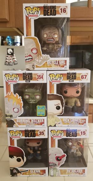 Rick and Morty, Walking Dead, and Misc Pops for Sale in Atlanta, GA