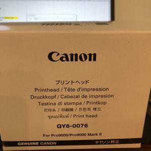 Canon Pro 9000mark ll Print Head New for Sale in Las Vegas, NV