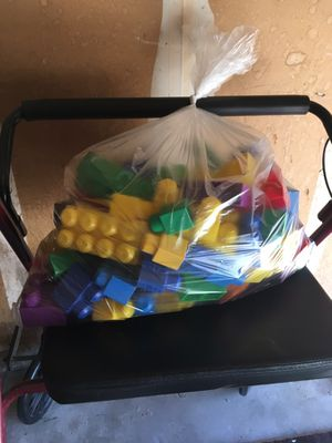 Big bag of mega blocks for Sale in Rancho Cordova, CA