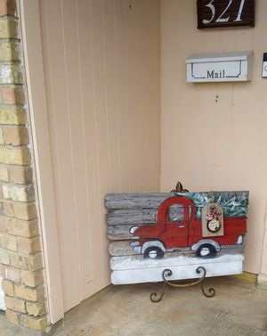 Rustic holiday sign for Sale in Crowley, TX