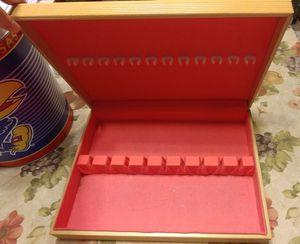 Silverware Chest Storage Box for Sale in Derby, KS