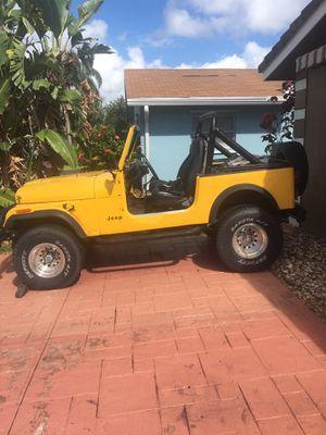 1986 Jeep Wrangler CJ7 project 4.2 straight 6 for Sale in Winter Garden, FL