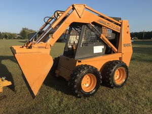 Case Skid Steer, Model 1845C w/ trailer and attachments for Sale in Batsto, NJ