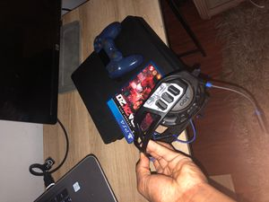 Ps4 & controller , turtle beach recon headset , NBA 2k20 (all cords) for Sale in Phoenix, AZ