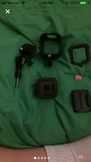 GoPro hero session waterproof camera with aluminum case and 64gb sd card only trade is Nintendo switch for Sale in Bellingham, MA
