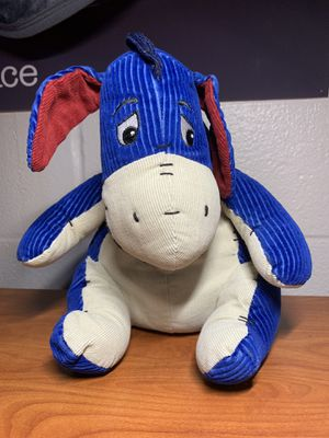 """Eeyore Authentic Disney Store Plush Corduroy 17"""" Tall - Rare! for Sale in Melrose, TN"""