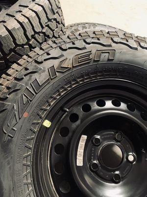Jeep Rubicon Gladiator Wrangler Spare Wheels Rims Tires for Sale in Gardena, CA