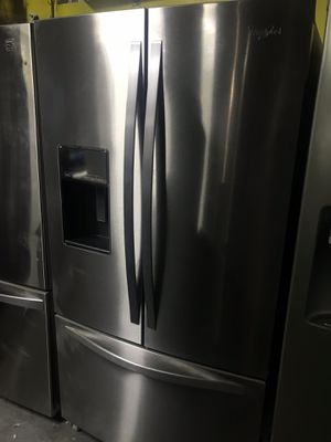 Whirlpool refrigerator French door touchscreen for Sale in La Habra Heights, CA