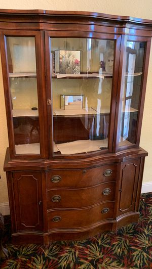 Antique Cherrywood China Cabinet for Sale in Escondido, CA