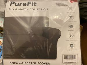 Sofa 4 pc slip cover brand new for Sale in Knightdale, NC