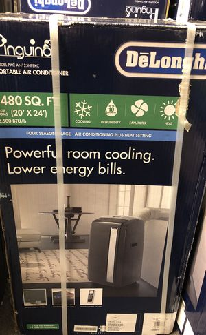 New Open Box Delonghi 13000 btu cold and hot air conditioner for Sale in Austin, TX