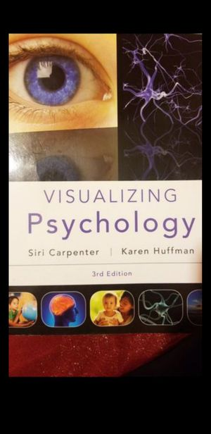 Visualizing Psychology 3rd Edition for Sale in Montebello, CA