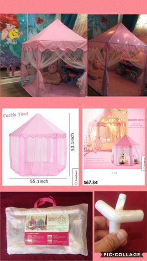 Princess tent canopy for Sale in Whittier, CA