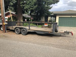 HD 20' utility trailer for Sale in Portland, OR