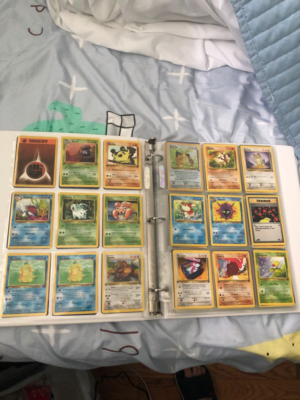 171 pokemon collection of some vintage 1st edition