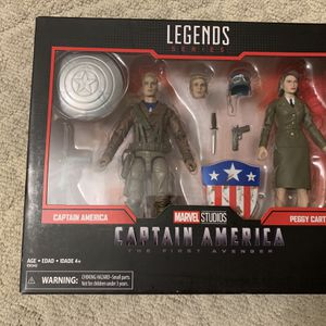 Marvel Legends Captain America The First Avenger for Sale in Anaheim, CA