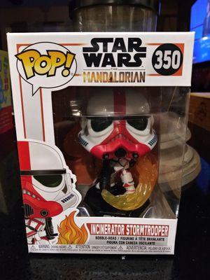 Funko Pop The Mandalorian Incinerator Stormtrooper #350 for Sale in Cypress, CA