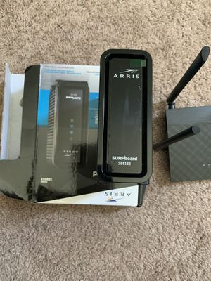 Internet Modem & Wireless router package for Sale in New Orleans, LA