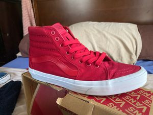 Vans high top leather inside for Sale in Port St. Lucie, FL
