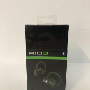 ERATO Rio True Wireless Sport Earphones - Bluetooth Compatible Waterproof with Microphone - Black for Sale in Costa Mesa, CA