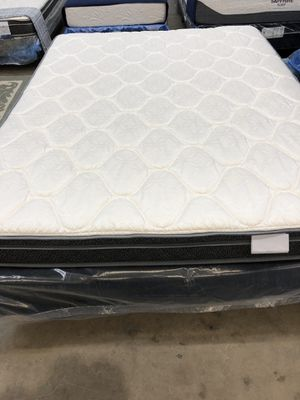 King frame, boxspring and mattress - STILL IN factory packaging. Letting go for $325 TODAY. for Sale in Bismarck, ND