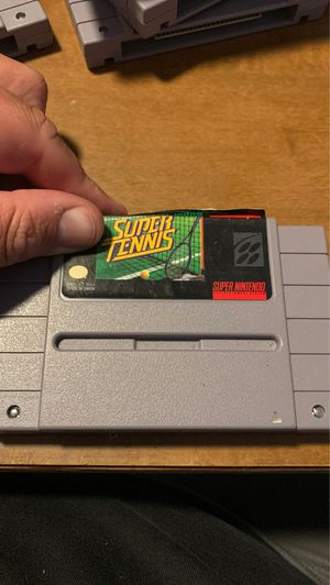 Super Tennis (Super Nintendo Entertainment System, 1991) for Sale in Dundalk, MD
