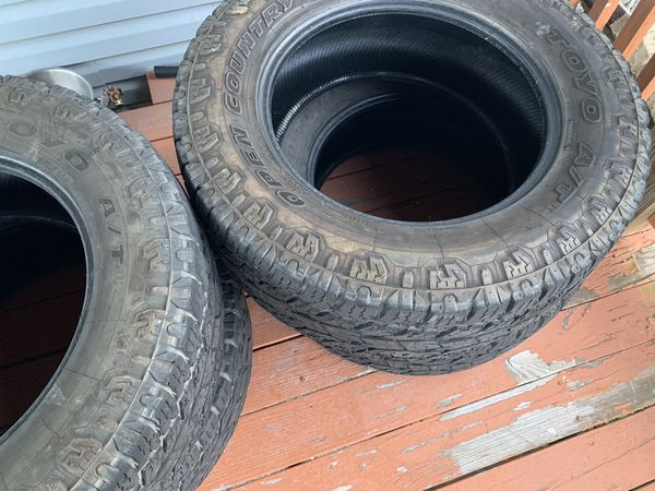 Mud tires (tires only)