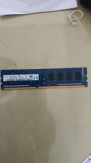 Ram ddr3 intel 4gb for Sale in Glendale, AZ