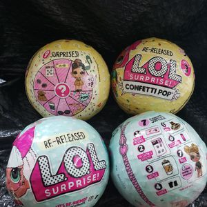 4 Lol Dolls 2 Diva And 2 Confetti Pop. for Sale in Roseville, MI
