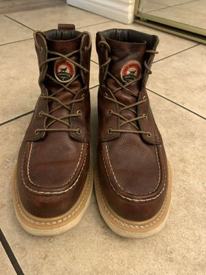 Red wing work boots for Sale in Fontana, CA