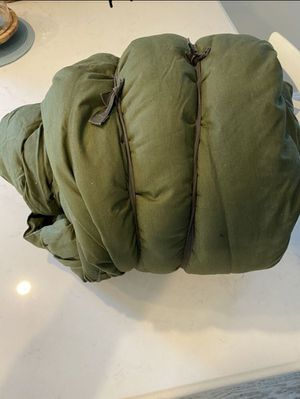 Sleeping bag military extreme cold for Sale in Tustin, CA