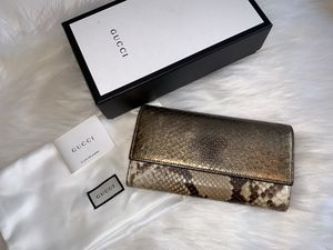 Gucci python wallet for Sale in San Jose, CA