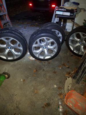 BMW X5 X6 wheels tires rims for Sale in Methuen, MA